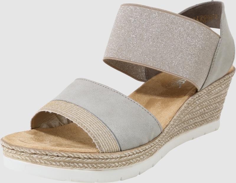 Rieker Sandal With Wedge Heel