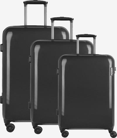 D&N 4-Rollen Kofferset 3tlg. in schwarz, Produktansicht