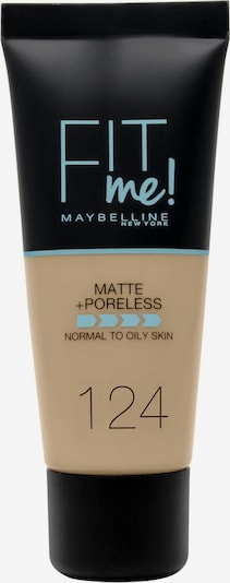 MAYBELLINE New York Foundation 'Fit me! Matte+Poreless' in hellbeige, Produktansicht