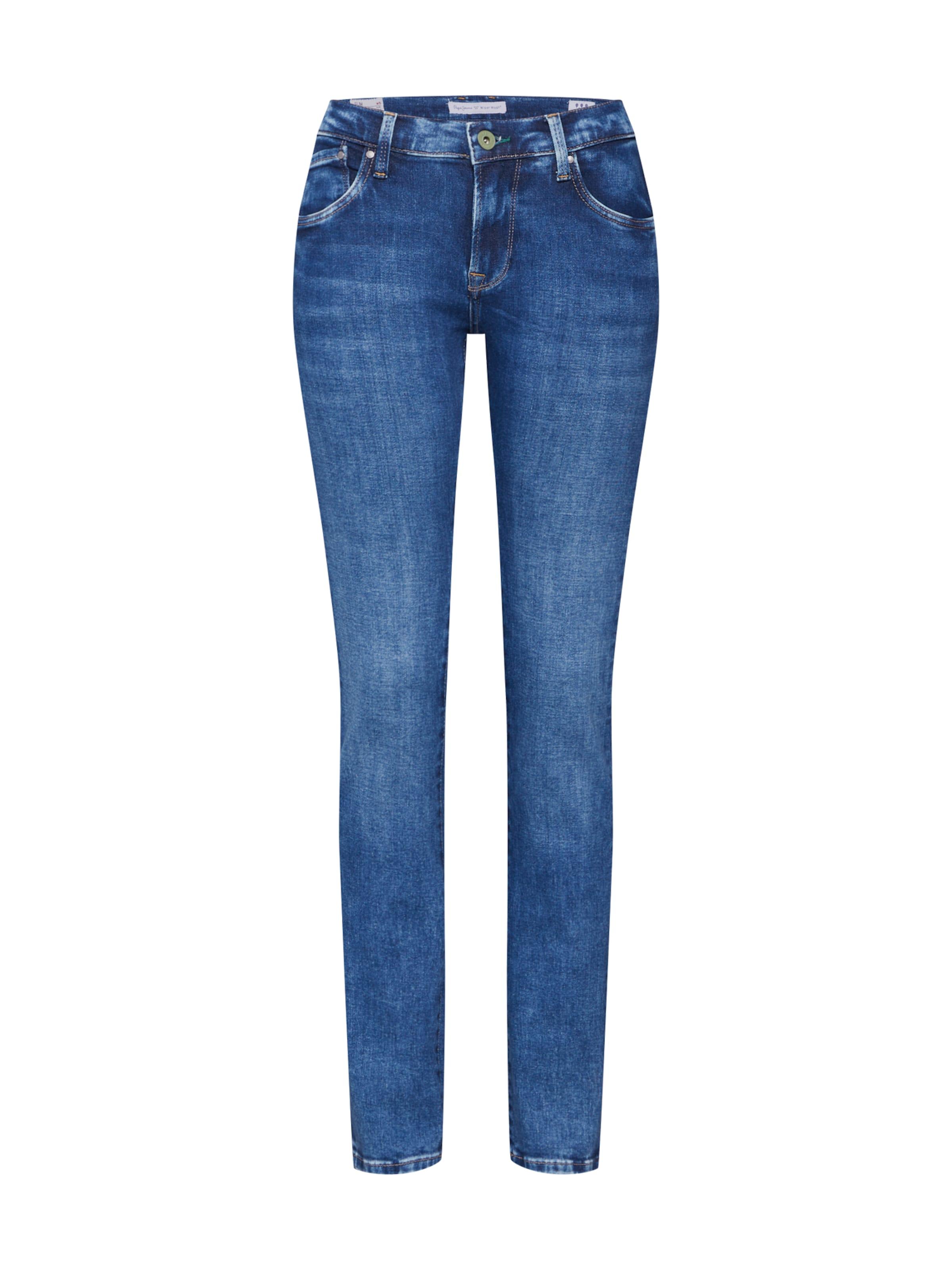 Denim Pepe En Jeans 'victoria' Jean Bleu IyY7gf6vb