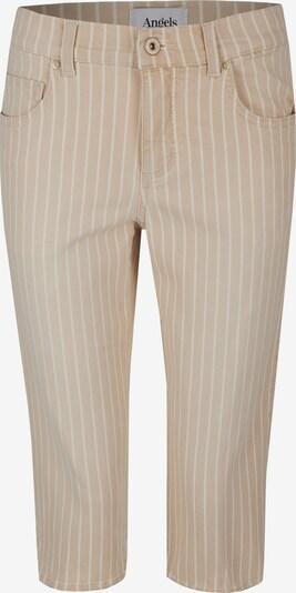 Angels Jeans in beige / weiß, Produktansicht