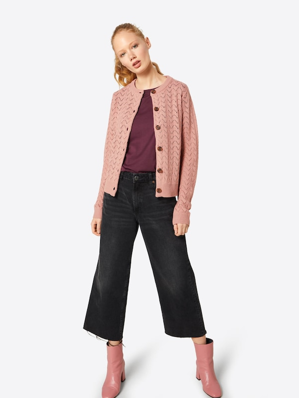 Fashion Cardigan Union 'tomato' Rose En N0PnwOkZ8X