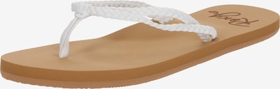 Flip-flops 'COSTAS' ROXY pe alb, Vizualizare produs