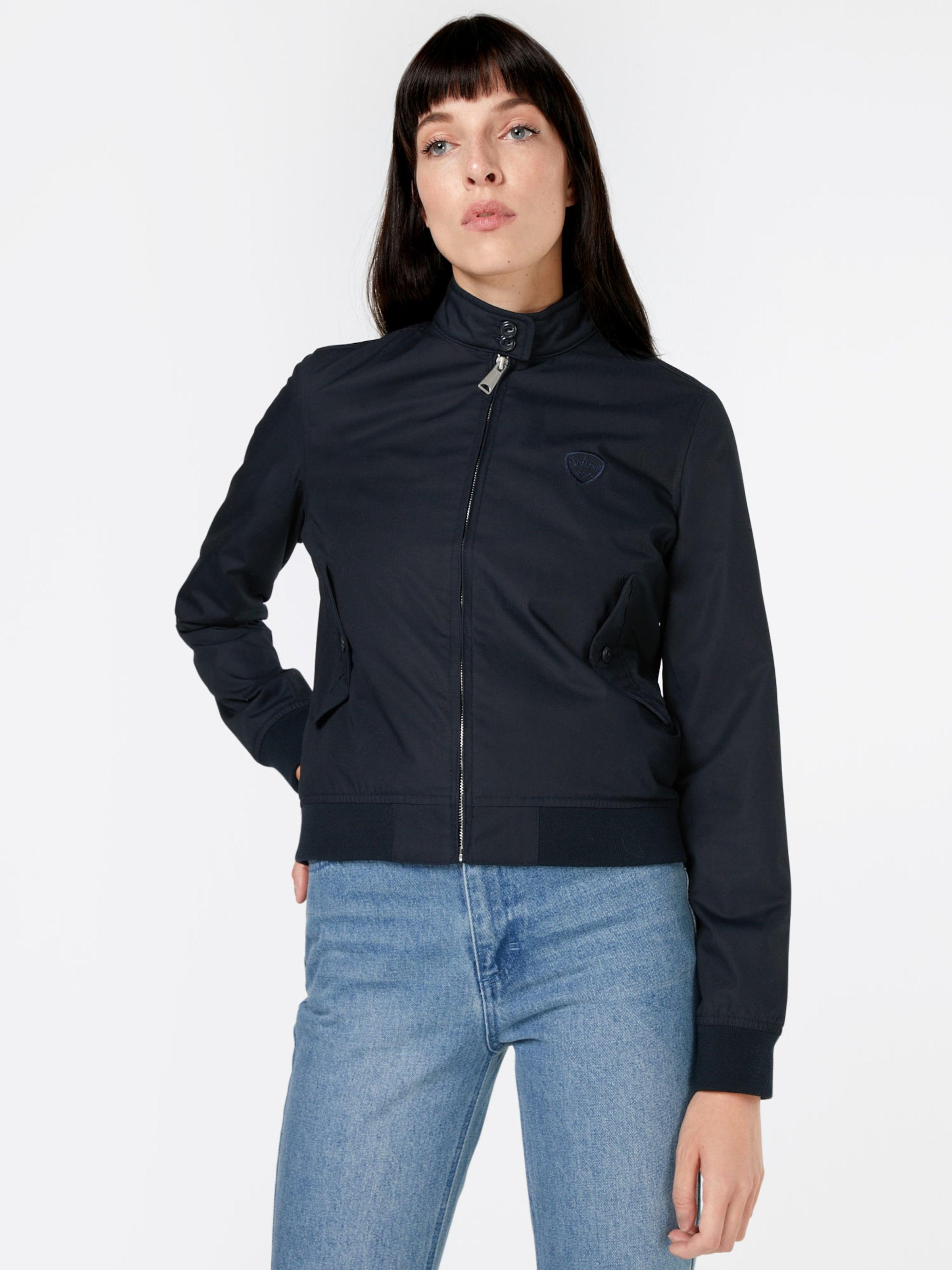 Zum Verkauf Finish Schott NYC Jacke 'CABL W' Günstig Kaufen Neuesten Kollektionen Austrittskosten N166bk