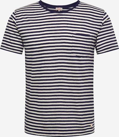 Armor Lux T-Shirt 'Héritage' en bleu foncé / blanc cassé, Vue avec produit