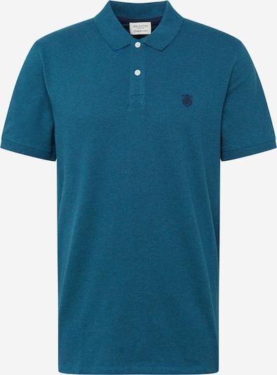 SELECTED HOMME T-Shirt en aqua, Vue avec produit
