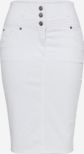 heine Jeansrock in white denim, Produktansicht