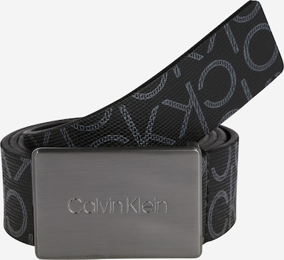 Calvin Klein Gürtel '35MM METAL PLAQUE MONOGRAM' in schwarz, Produktansicht