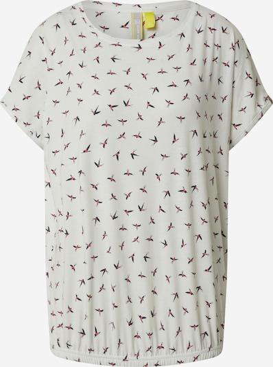 Alife and Kickin T-Shirt 'Sun' in mischfarben / weiß, Produktansicht