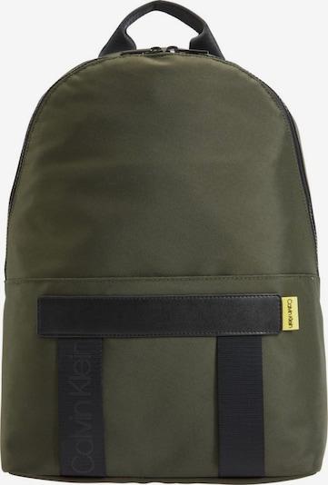 Calvin Klein Plecak 'Nastro' w kolorze oliwkowy / czarnym, Podgląd produktu