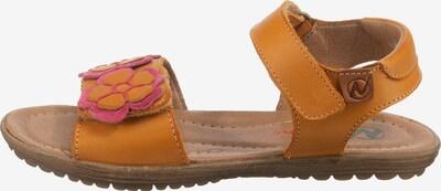 NATURINO Sandalen BEGONIA in gelb, Produktansicht