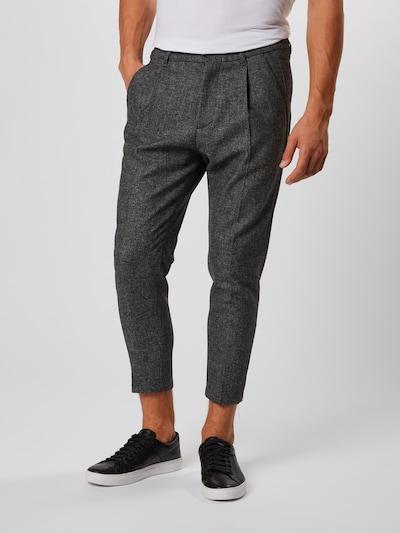 Klostuotos kelnės 'CHASY' iš DRYKORN , spalva - tamsiai pilka: Vaizdas iš priekio