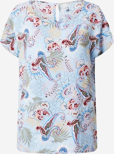 Soyaconcept Koszulka 'Sammy' w kolorze niebieski / mieszane kolorym: Widok z przodu
