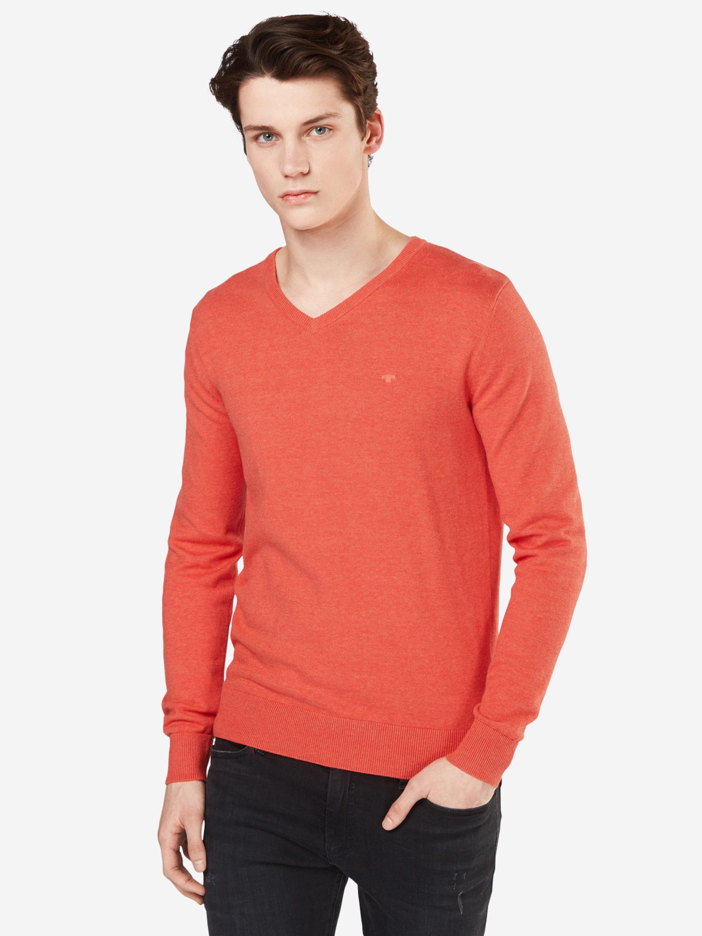 'basic Tailor Tom Sweater' Pullover V-neck