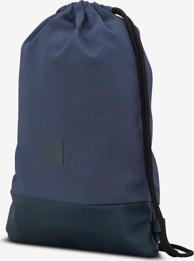 Johnny Urban Sacs à cordon 'Luke' en bleu / bleu foncé: Vue de profil