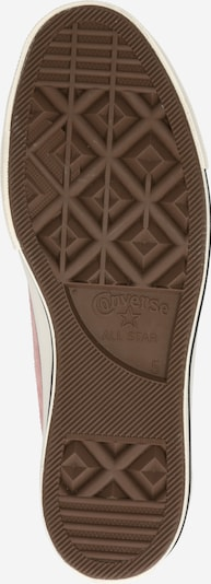 CONVERSE Sneaker in rosa / schwarz / offwhite: Ansicht von unten