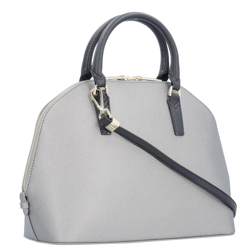 Trussardi Jeans Ischia Ecoleather Dome Bag Handtasche 32 cm