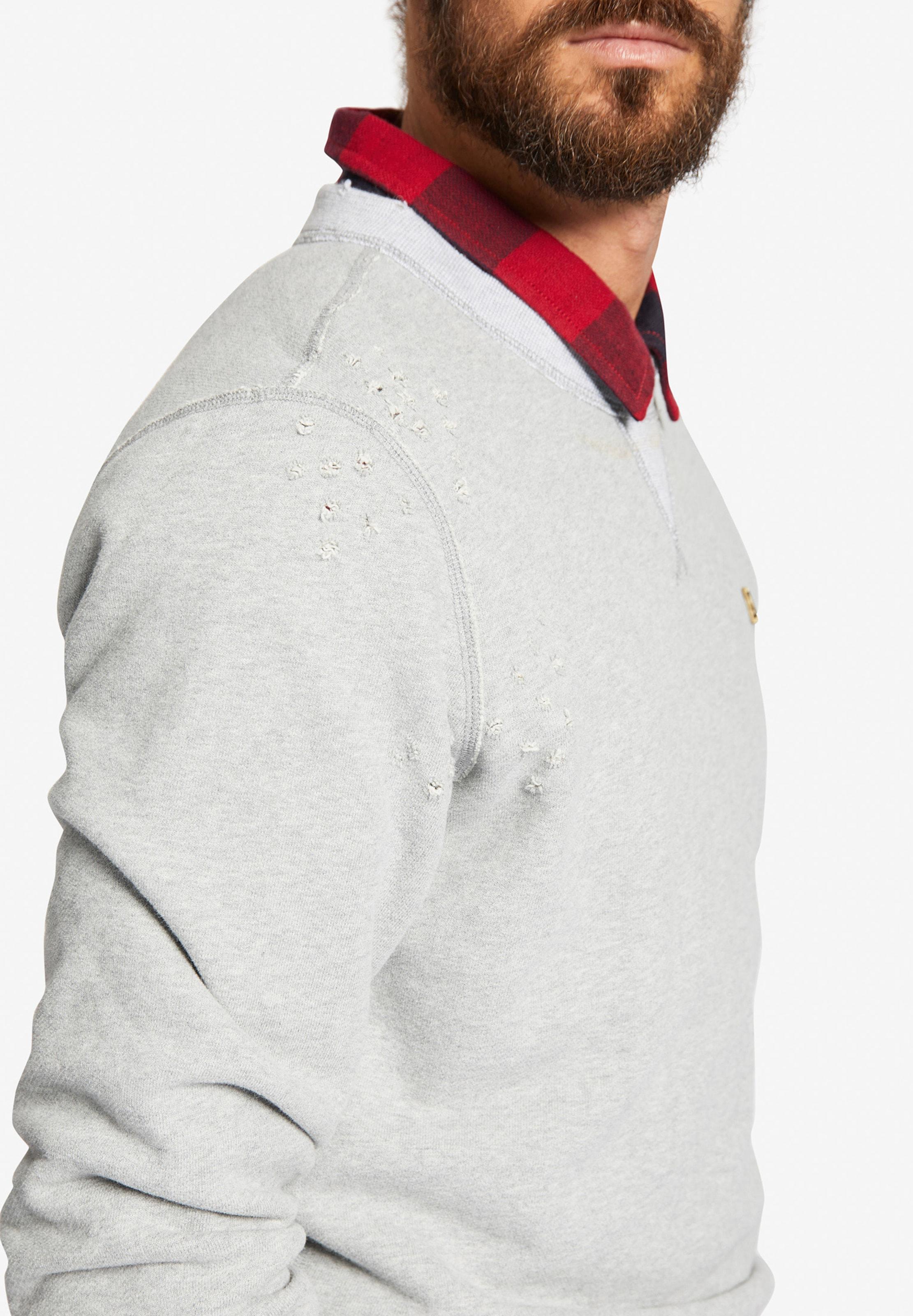 shirt Sweat 'pendor' En Khujo Gris eWrCxdBo