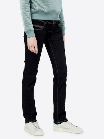 Pepe Jeans Jeans 'Venus Straight Leg' in Blau