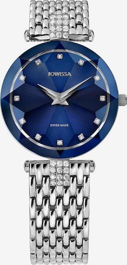 JOWISSA Analoog horloge 'Facet Strass' in de kleur Blauw / Zilver, Productweergave