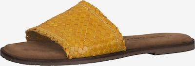TAMARIS Pantolette in gelb, Produktansicht