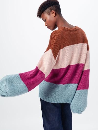 MINKPINK Pulover | mešane barve barva: Pogled od zadnje strani