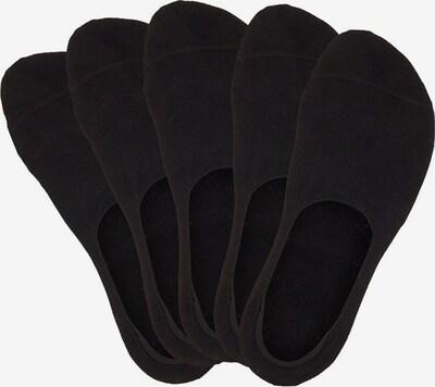 BENCH Füßlinge (5 Paar) in schwarz, Produktansicht