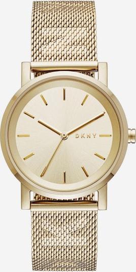DKNY Quarzuhr 'SOHO, NY2621' in goldgelb / weiß, Produktansicht