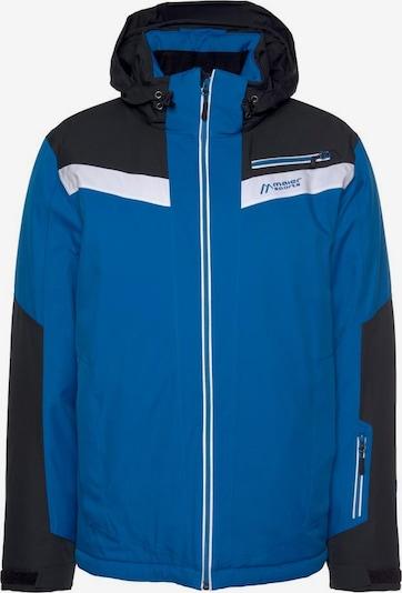 Maier Sports Skijacke in blau / schwarz / weiß, Produktansicht