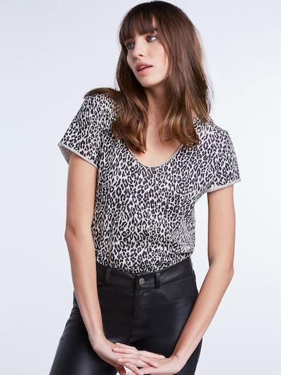 SET Shirt in schwarz: Frontalansicht
