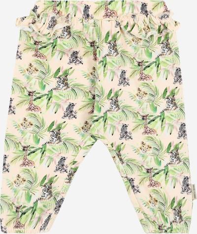 Pantaloni 'Teodora' Hust & Claire pe verde / roz, Vizualizare produs