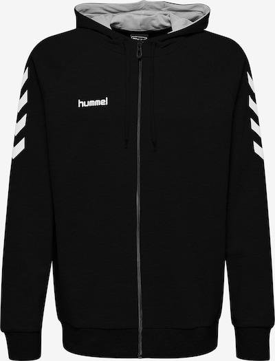 Hummel Pullover in schwarz / weiß, Produktansicht