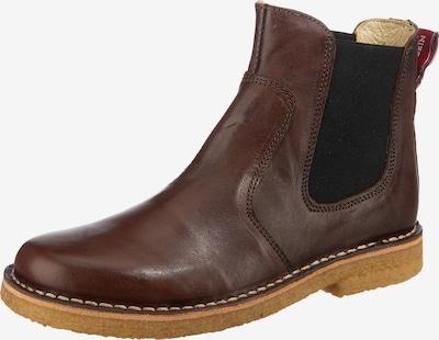 Grünbein Chelsea Boots 'Irma' in karamell / schwarz, Produktansicht
