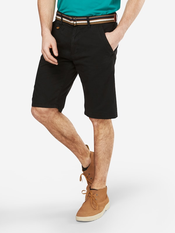 Indicode Jeans 'royce' Noir Chino Pantalon En 9H2IED