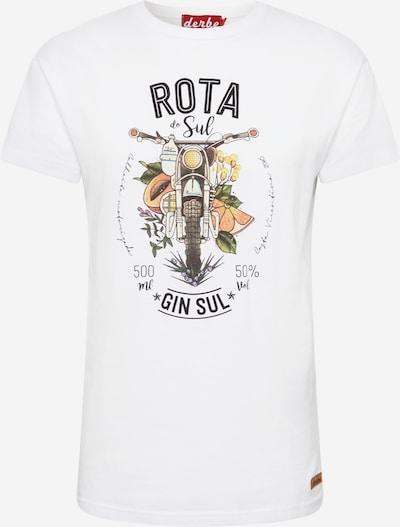 Derbe Tričko 'Roto do Sul' - rákos / oranžová / bílá, Produkt