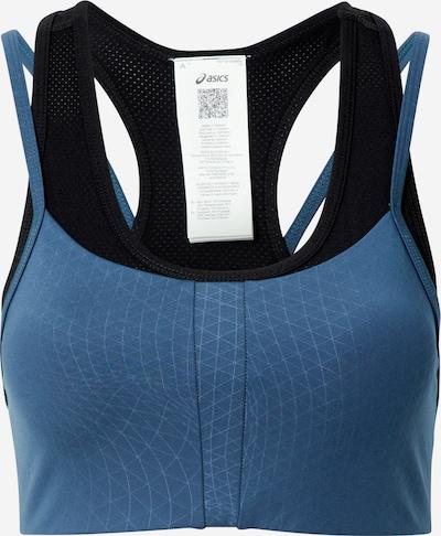 ASICS Sportovní podprsenka - chladná modrá / černá, Produkt