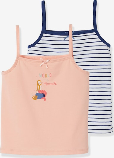 VERTBAUDET Unterhemd , Doppelpack in rosa, Produktansicht