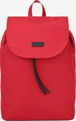 Expatrié Reppu 'Clara' värissä punainen