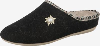 FLY FLOT Pantoffeln in schwarz, Produktansicht