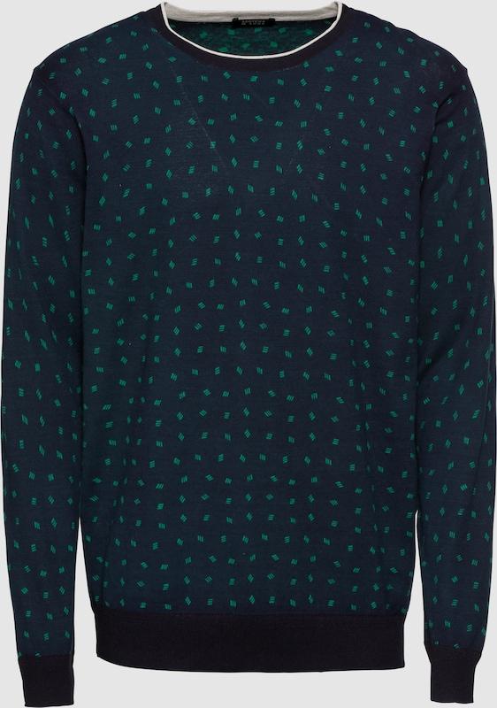 SCOTCH & SODA Pullover in dunkelblau   grün  Neuer Aktionsrabatt