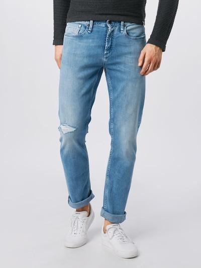 DENHAM Jeans 'RAZOR WLCOWBOY' in blue denim, Modelansicht