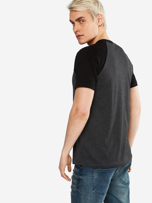 Urban Classics T-Shirt 'Raglan Contrast'