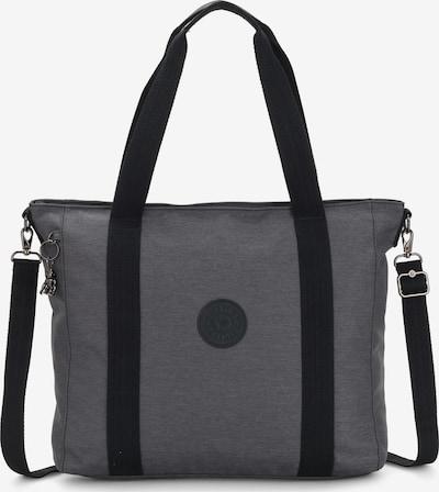 KIPLING Shopper 'Peppery Asseni' in dunkelgrau / schwarz, Produktansicht