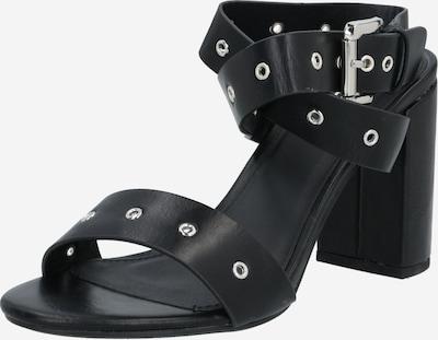 4th & Reckless Sandale 'Adrianna' in schwarz / silber, Produktansicht