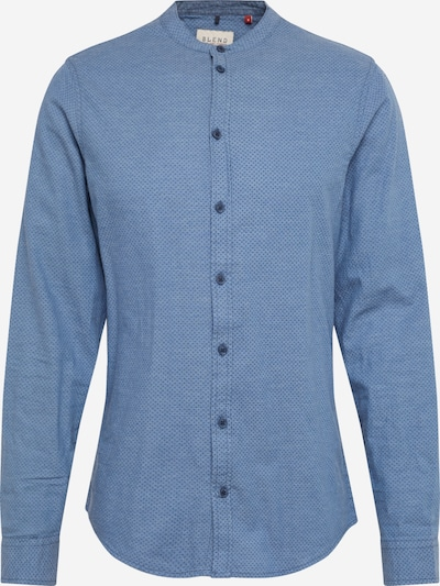 BLEND Hemd in rauchblau / dunkelblau, Produktansicht