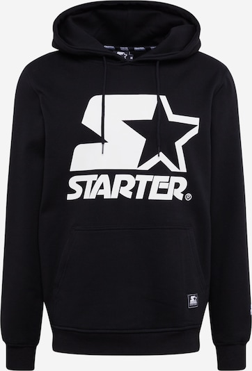 Starter Black Label Sweatshirt 'Starter The Classic Logo Hoody' in de kleur Zwart, Productweergave