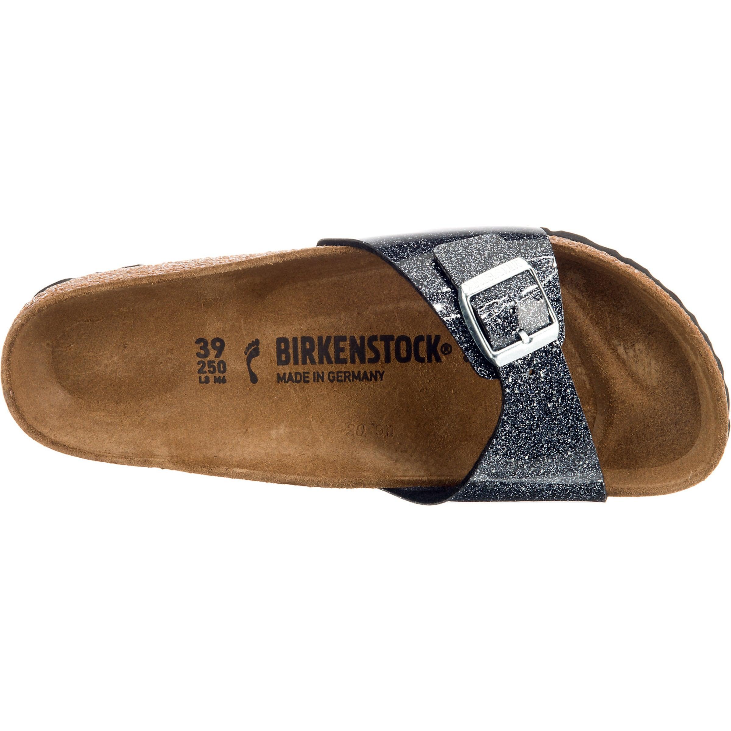 Pantolette 'madrid Birkenstock Cosmic Sparcle' In Grau 3R4ALqjc5S