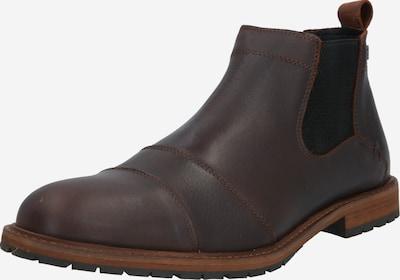 BULLBOXER Chelsea Boots en brun foncé, Vue avec produit