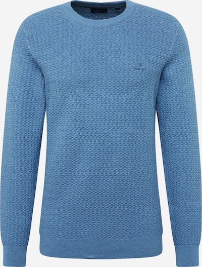 GANT Pullover in himmelblau: Frontalansicht