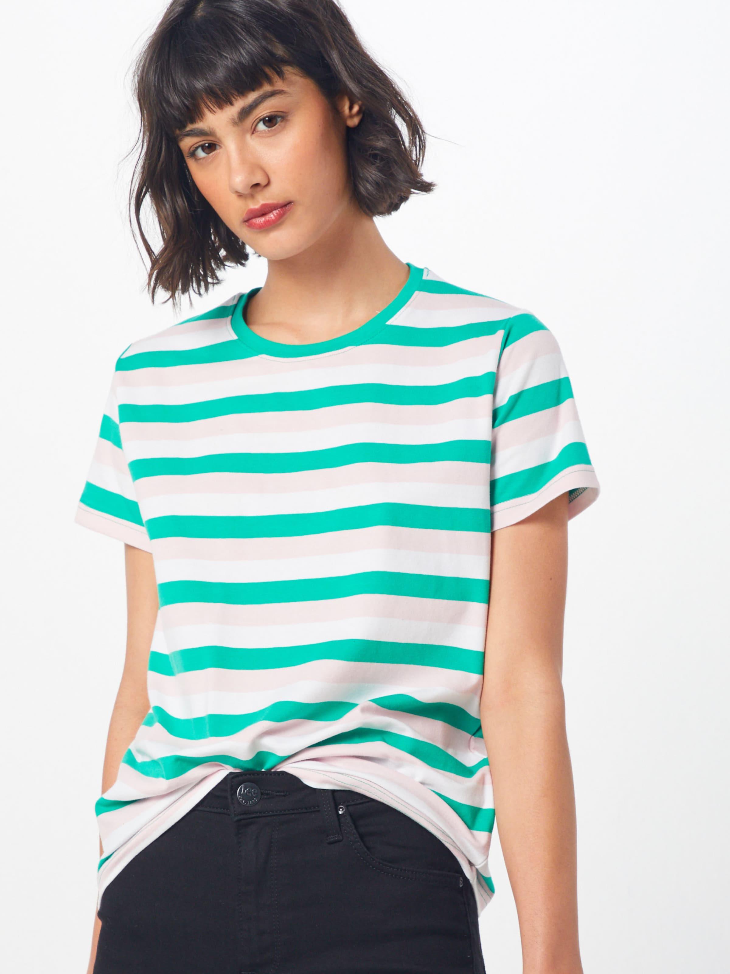Point Sisters MintRosa Shirt'herm' Weiß In hQstxrdC